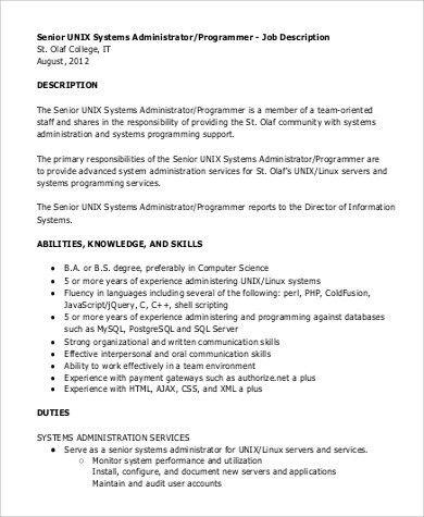 Cnc Programmer Job Description Sample Of Job Description Of Cnc - programmer job description