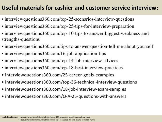 Customer Service Application Questions Top 10 Customer Service - customer service interview questions