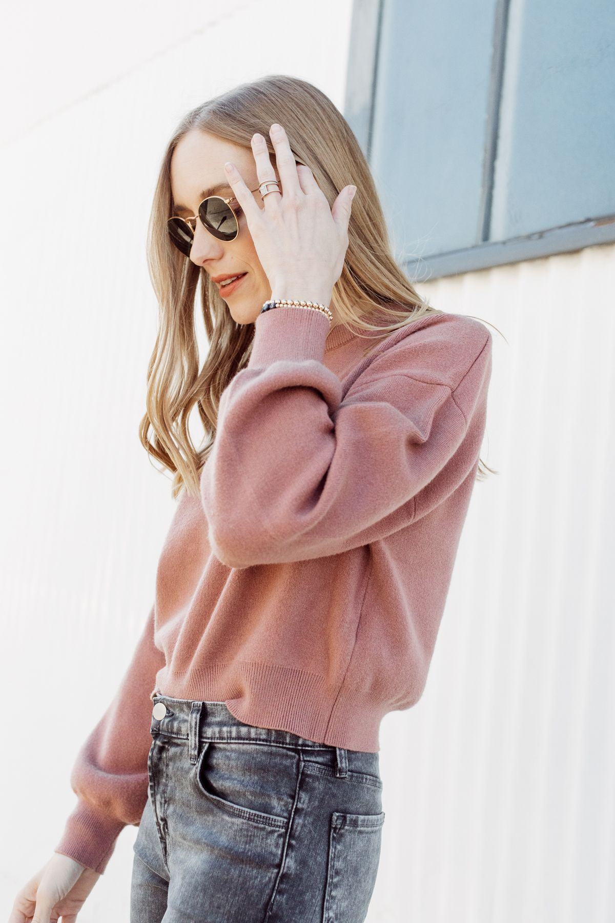 Cropped Knits + updated jewelry details
