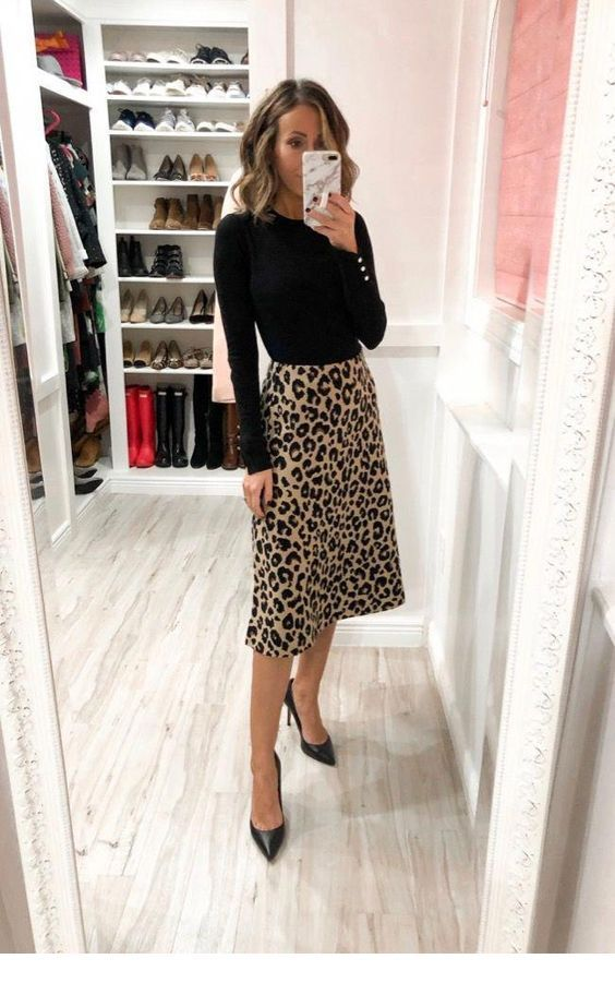 Cool leo skirt style