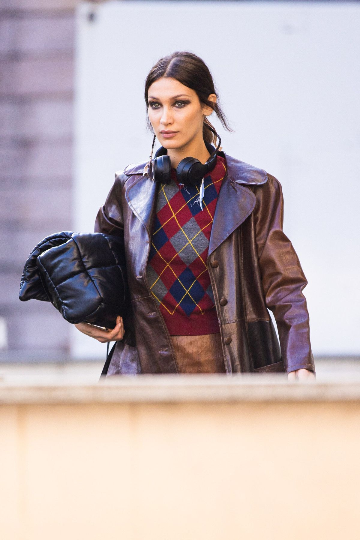 Bella Hadid Off-Duty Style During Milan Fashion Week