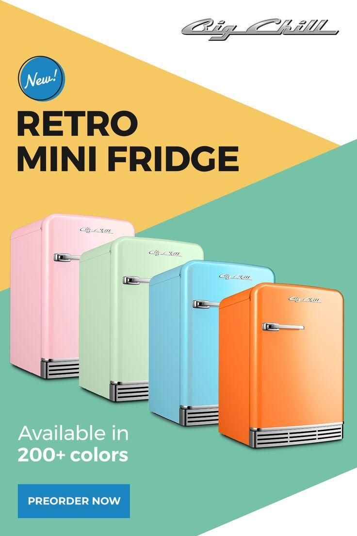 Big Chill's Retro Mini-Fridge!!! Pre-Order Now!