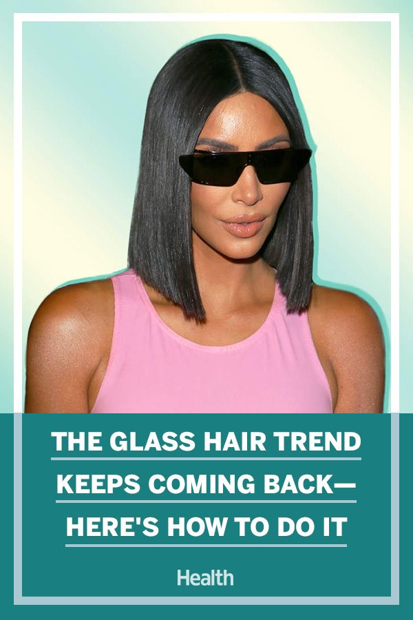 The Glass Hair Trend Keeps Coming Back—Here's How to Do It
