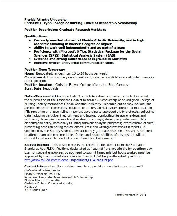 Statistical analyst cover letter