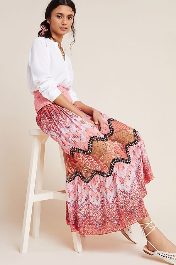 Haylie Lace Maxi Skirt