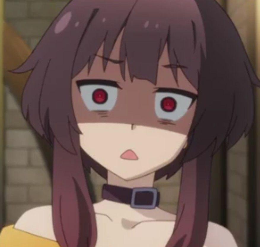 Anime face expression - Megumin konosuba #anime #kawaii ...