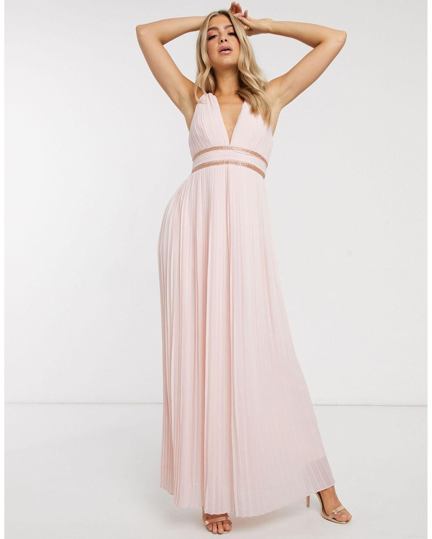 Grecian Style Bridesmaid Dress