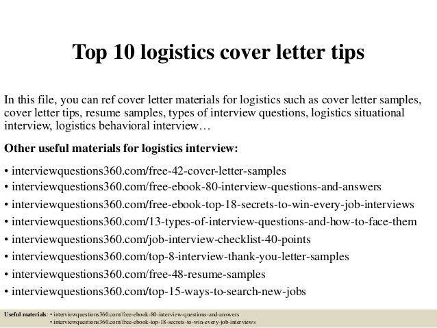 ... Sample Logistics Cover Letter Logistics Coordinator Cover Letter   Iso  Coordinator Cover Letter ...