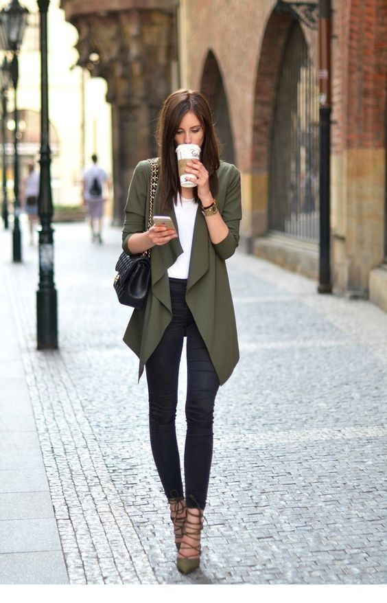 I like the olive cardi