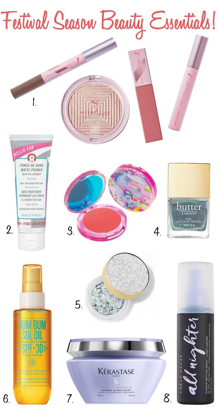 Festival Season Beauty Essentials!