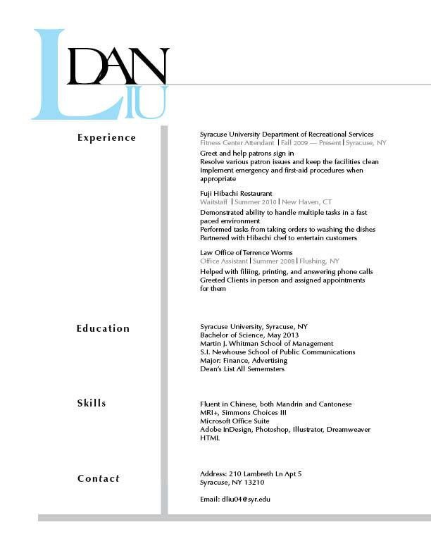 draft resume example examples of resumes