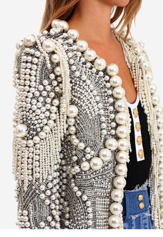 A nice pearl blazer