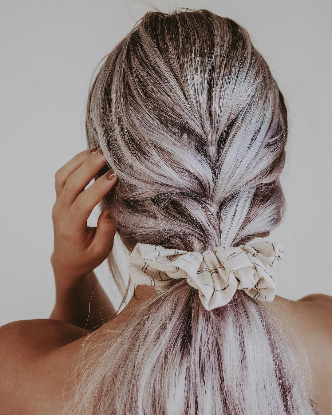 New tutorial for two ways to do pull through braid ponytails. Guess where the link is..
