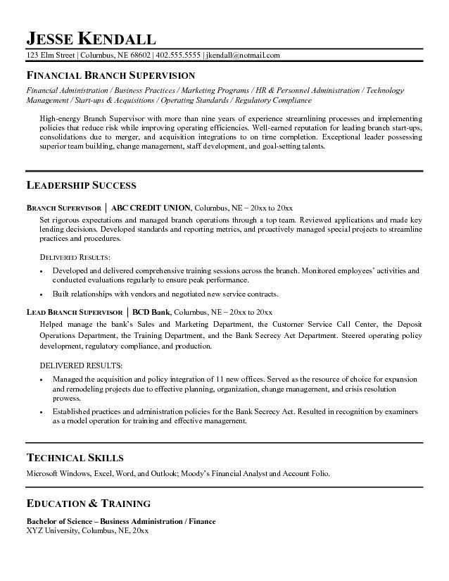 Supervisor Resume Sample Unforgettable Shift Supervisor Resume