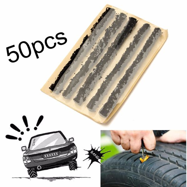 Hotdeals2017's Pinterest #ztyre Image created at 255720085072914361 - 50pcs Car Auto Tubeless Tyre Emergency Puncture Repair Tire Strip