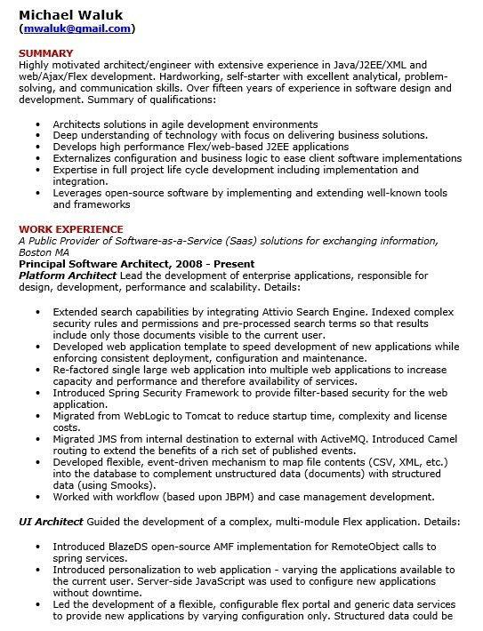 software architect resume node2002-cvresumepaasprovider