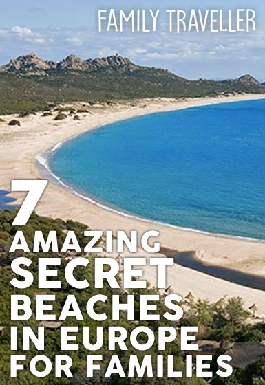 7 Amazing secret beaches in Europe for families