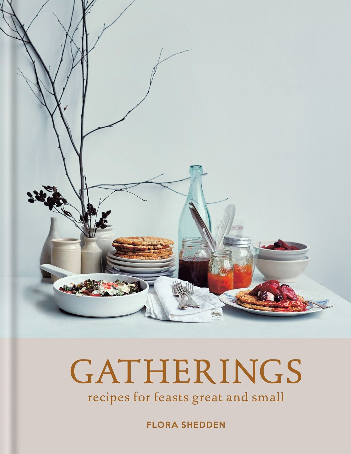 Gatherings by Flora Shedden. This is a beautiful book, with recipes that balance the relaxed with the inventive. Above all, they have the authentic sense of coming out of a real home kitchen. I have littered my book with post-it notes, and choosing which recipe to highlight for you was not an easy task. But since the Balsamic Onion Soda Bread is the first recipe I plan to try, it seemed only right to choose that one.