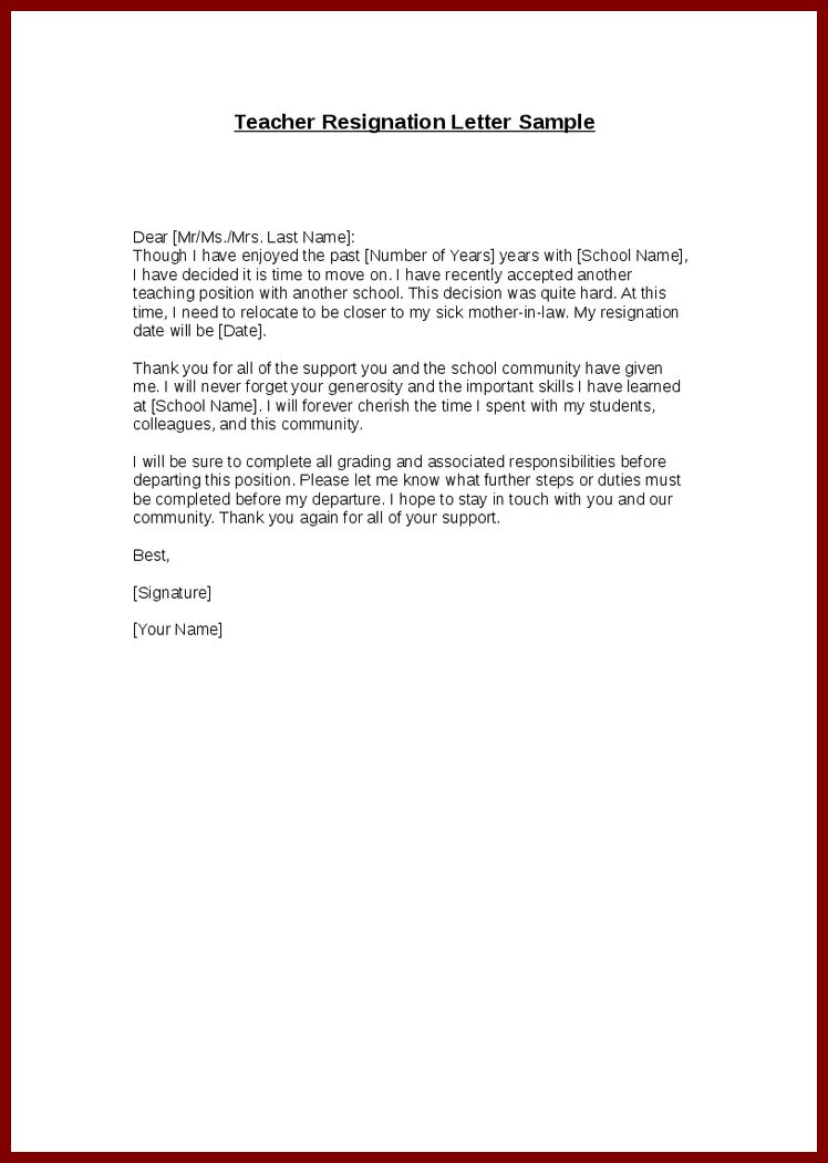 How To Write A One Week Notice Resignation Letter 11 Notice Of - letters of resignation sample