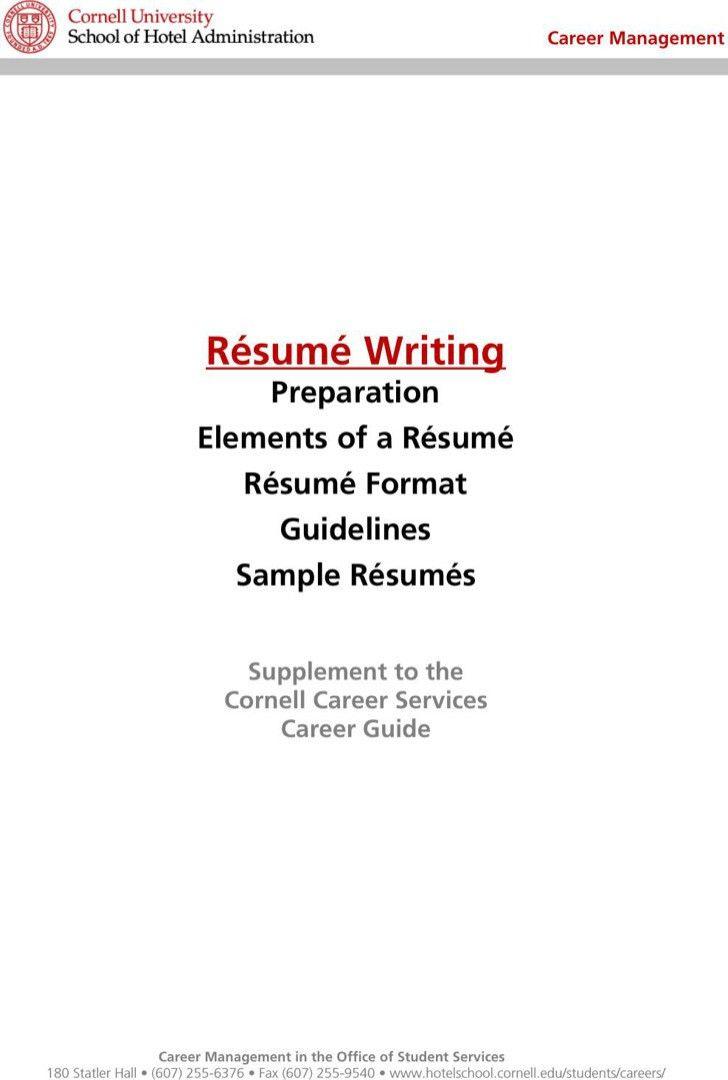 concierge resume sample resume cv cover letter