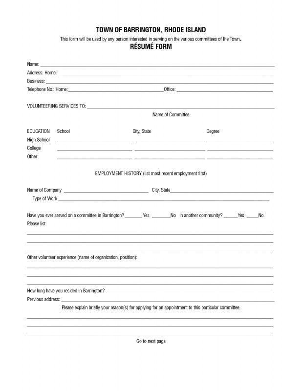 Free Resume Builder Online Printable 11 Best Free Online Resume - resume generator online