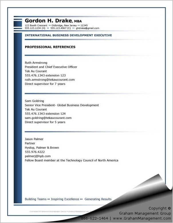 Reference list sample example of a footnote and a reference list - resume reference page template
