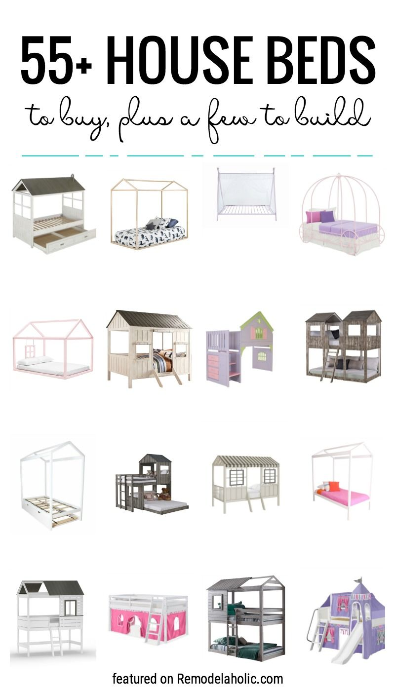 55 Awesome Kids House Bed Frames to Buy
