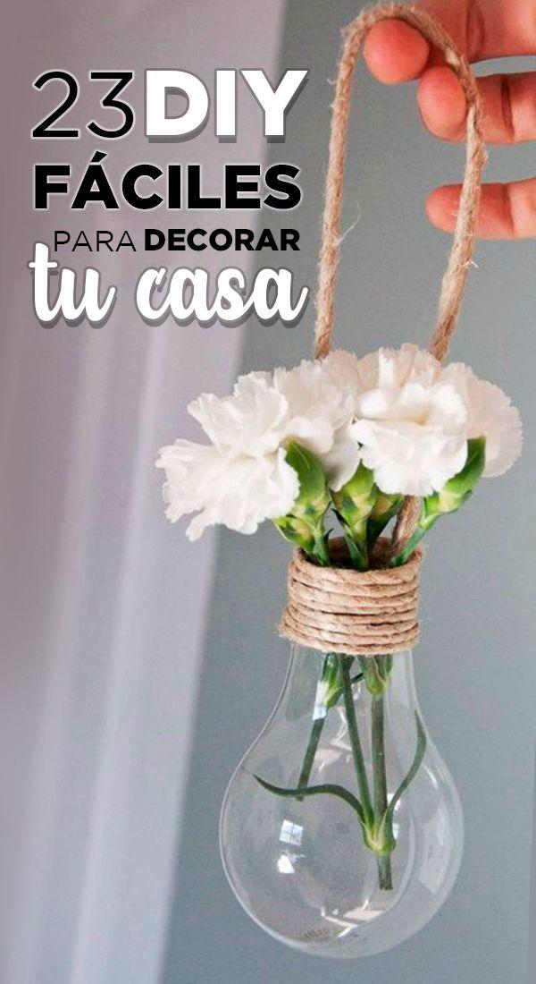Mira cómo decorar bonito y con poco dinero 🤩