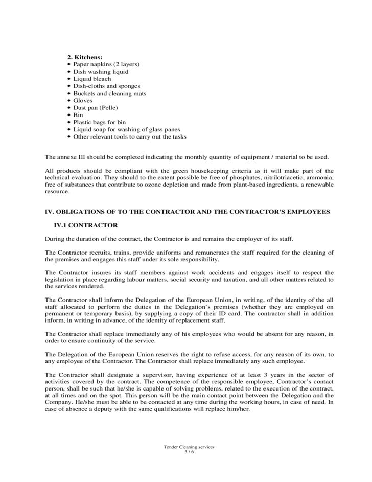 Sample Cleaning Service Agreement Cleaning Contract Template 27 - agreement for labour contract