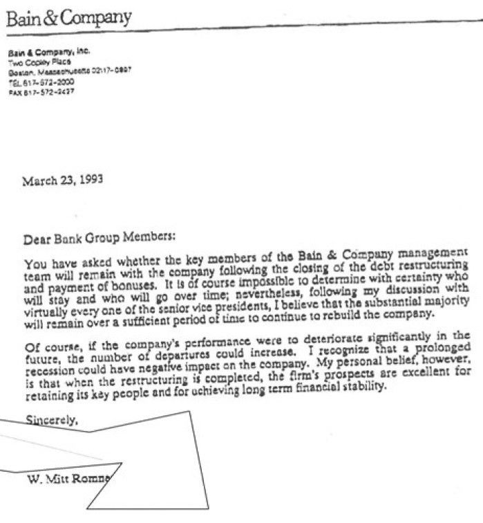 Boston Consulting Group Cover Letter Bain Sample