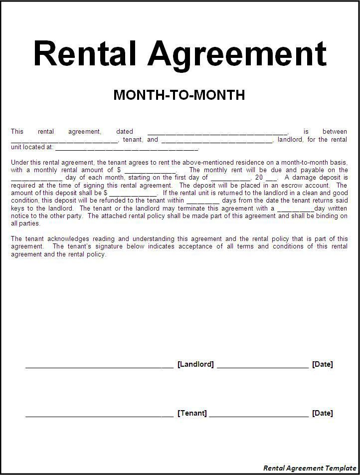 Office Rental Agreement Format Commercial Rental Agreement 11 - lease template word