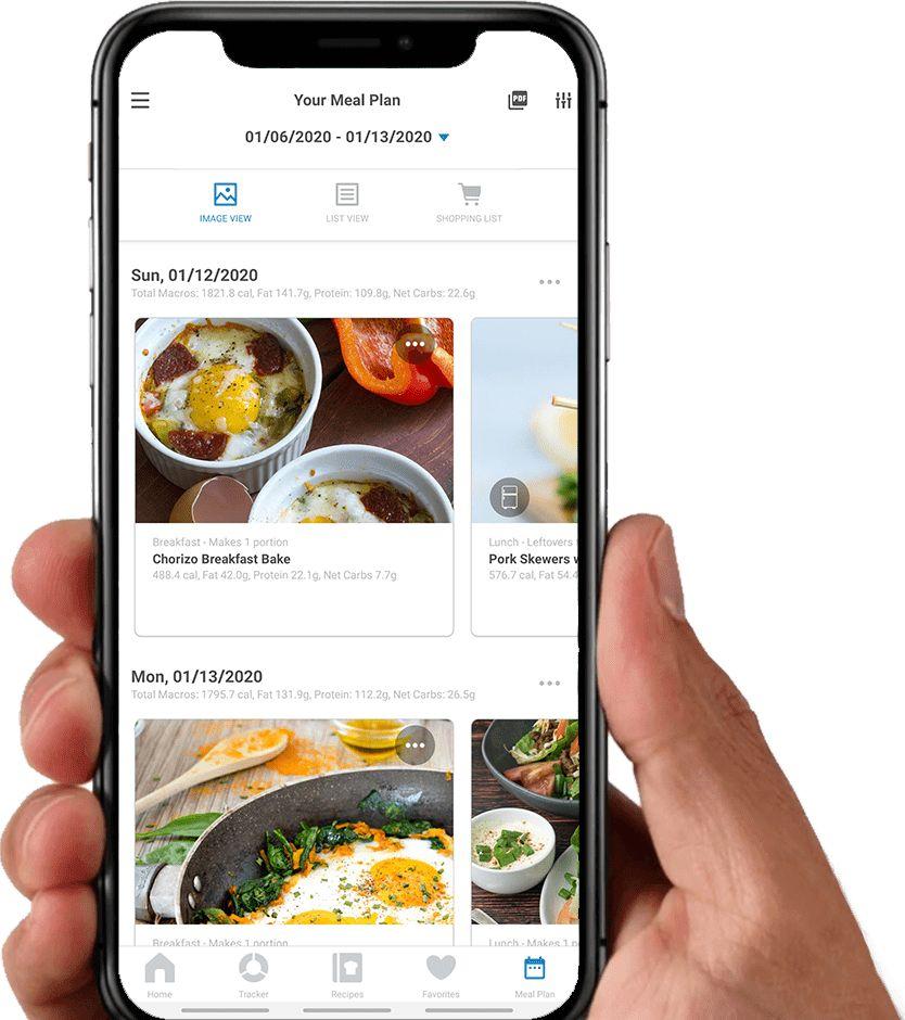 Free Keto Diet Meal Plan & Recipe App