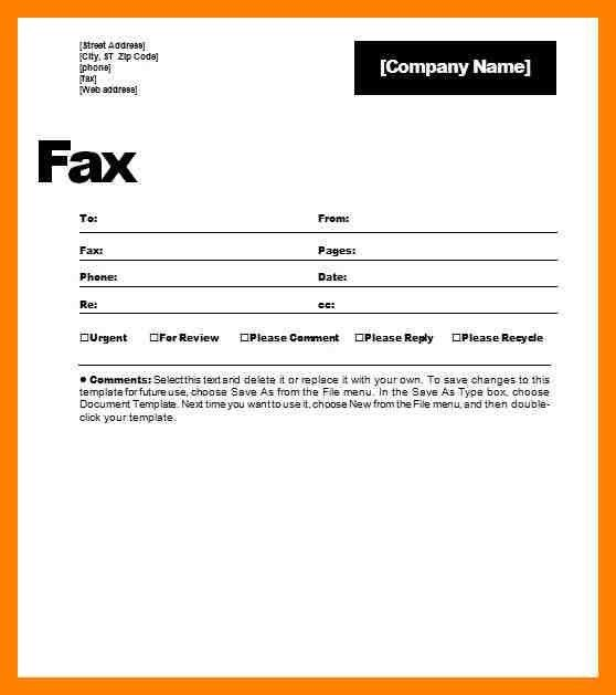 Example Of A Fax Cover Sheet Free Fax Cover Sheet Template - cute fax cover sheet