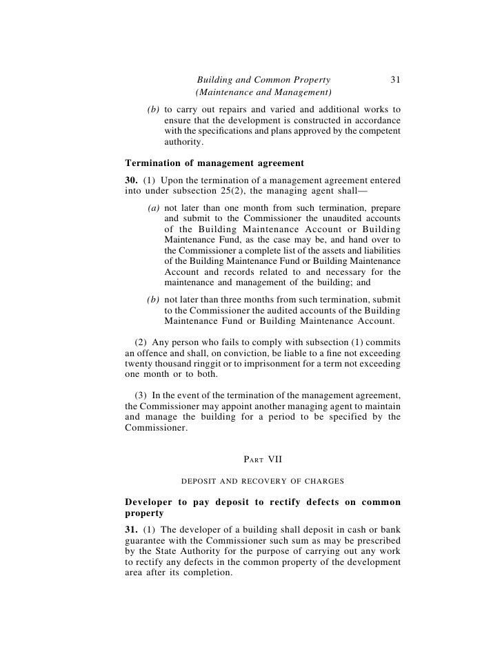 Property Maintenance Contract Template 7 Maintenance Contract - management agreement