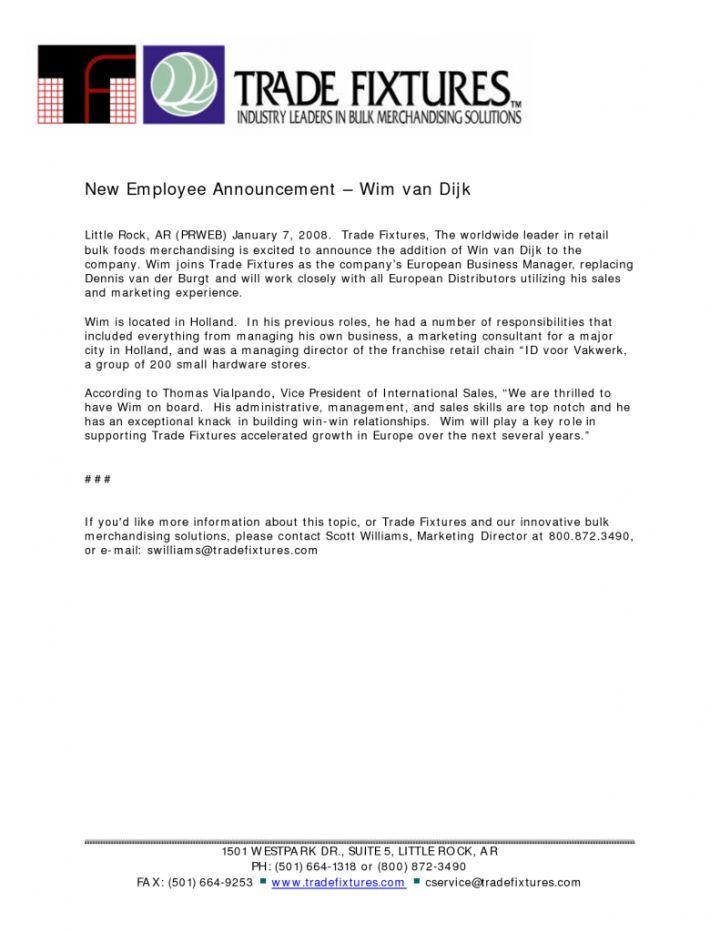 Employee Promotion Announcement Template madebyrichard