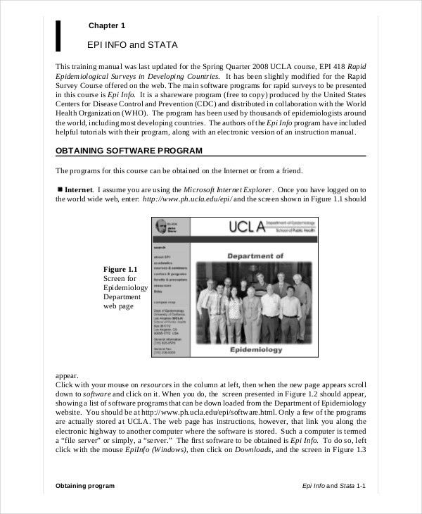 Manual Templates Microsoft Word Manual Template Basic And - software manual template
