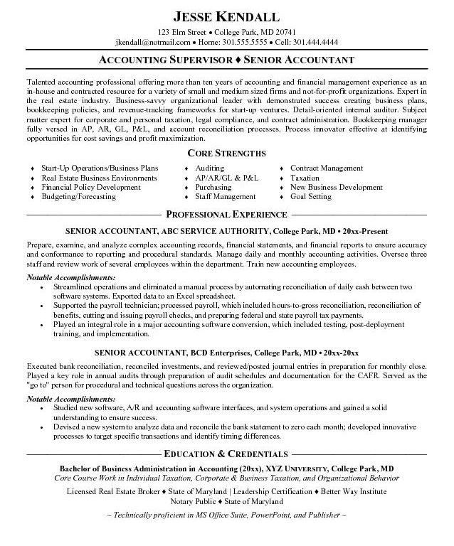 Payroll Accountant Cover Letter | Cvresume.unicloud.pl