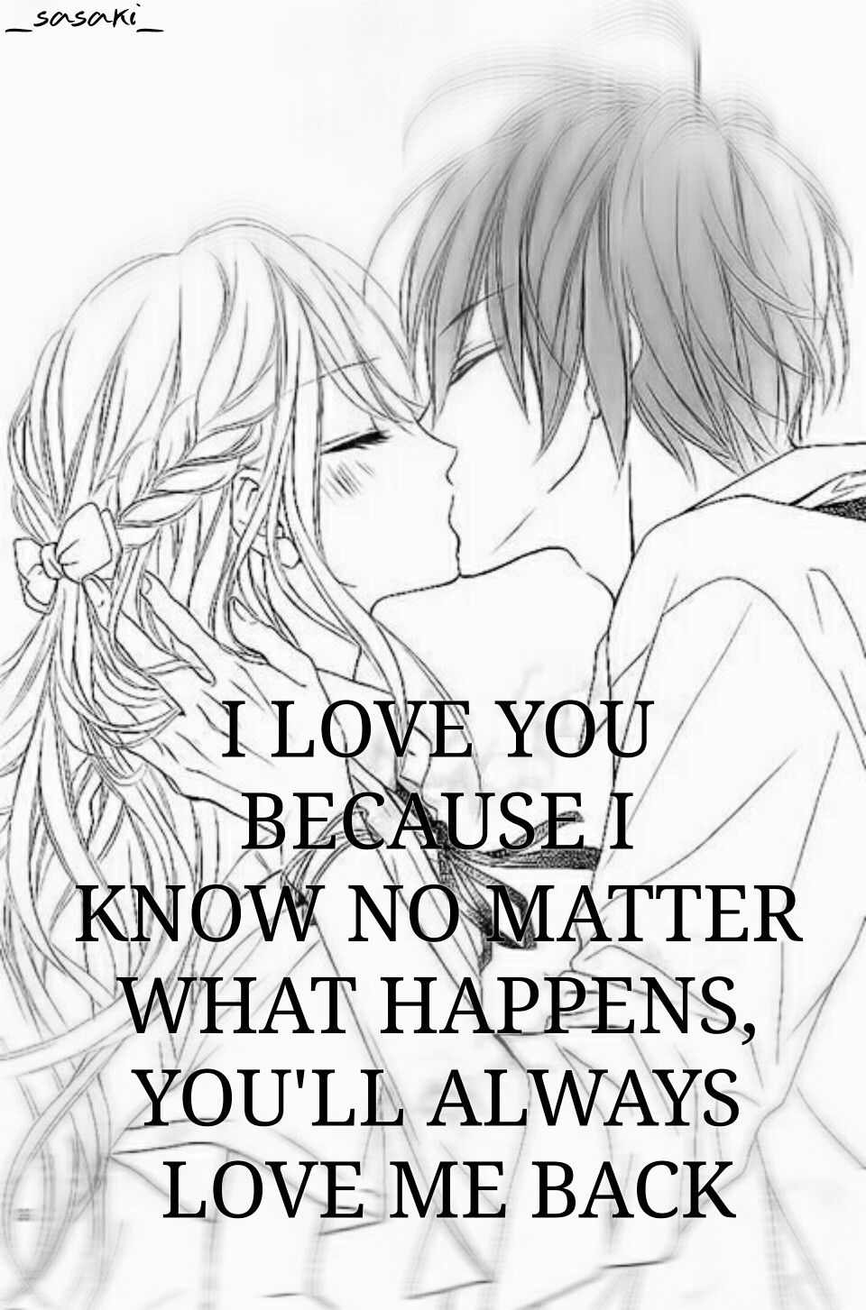 Love Anime Manga Quote for Valentines Day Σ(´∀`;) Cute