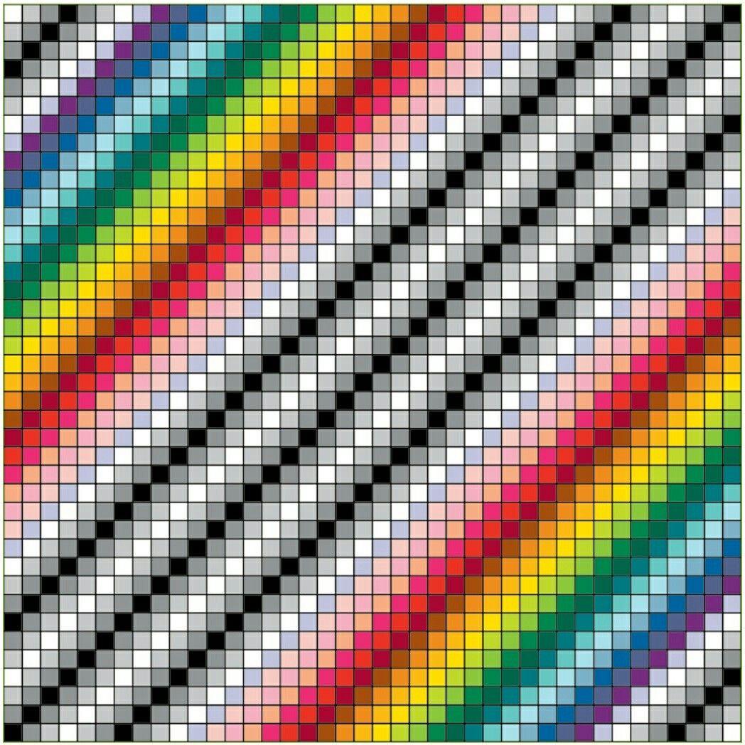 Gradient Rainbow (Illusive) Instagram posts, Colorfy app