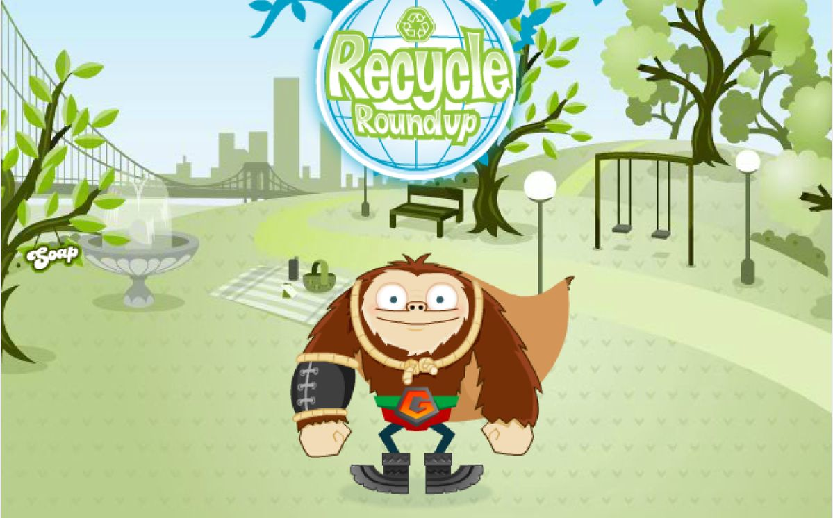 RECYCLE ROUNDUP: Play This Fun Game!