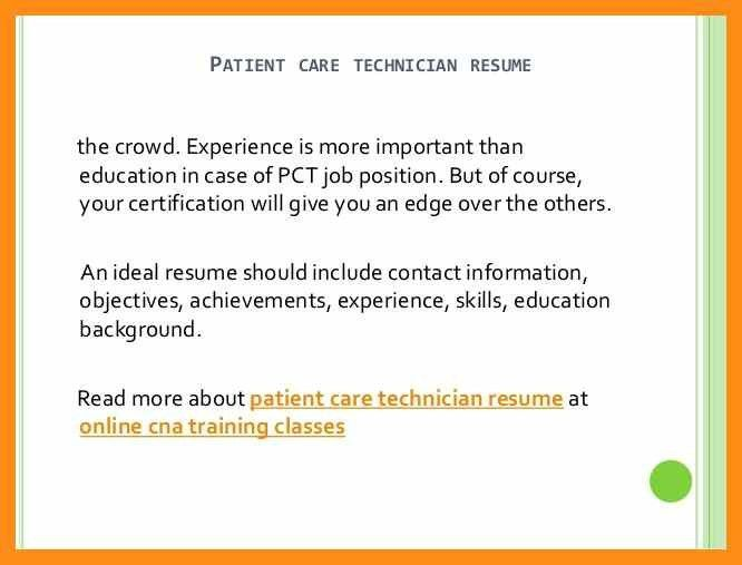 patient care technician resume sample download pct resume dialysis technician resume - Pct Resume
