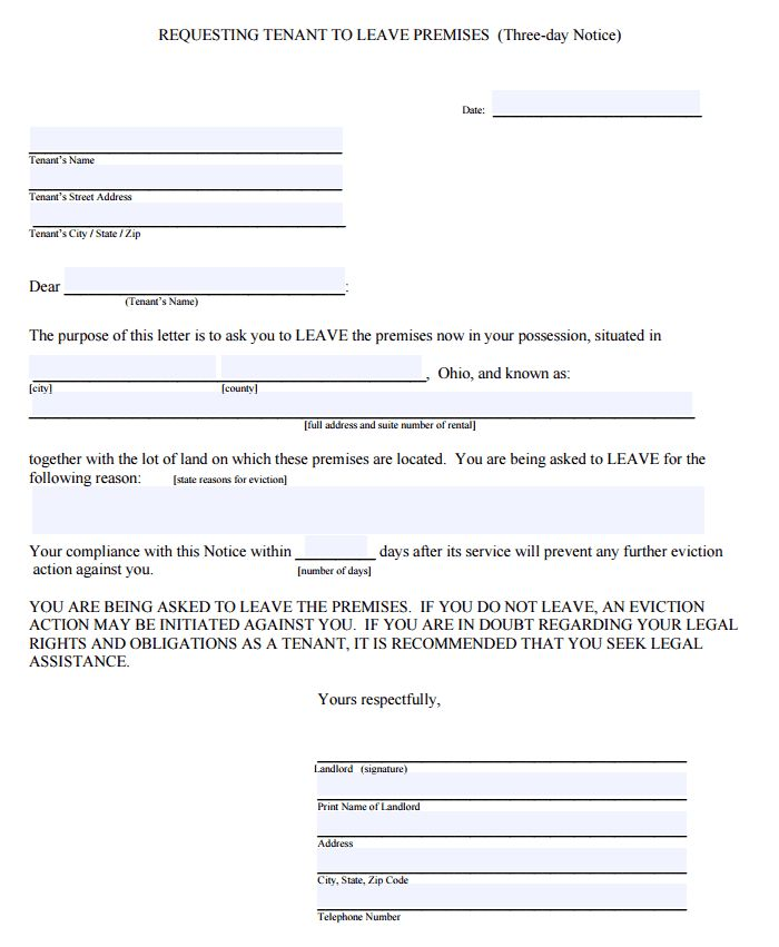Sample Lease Termination Letter To Tenant From Landlord Sample - lease termination form