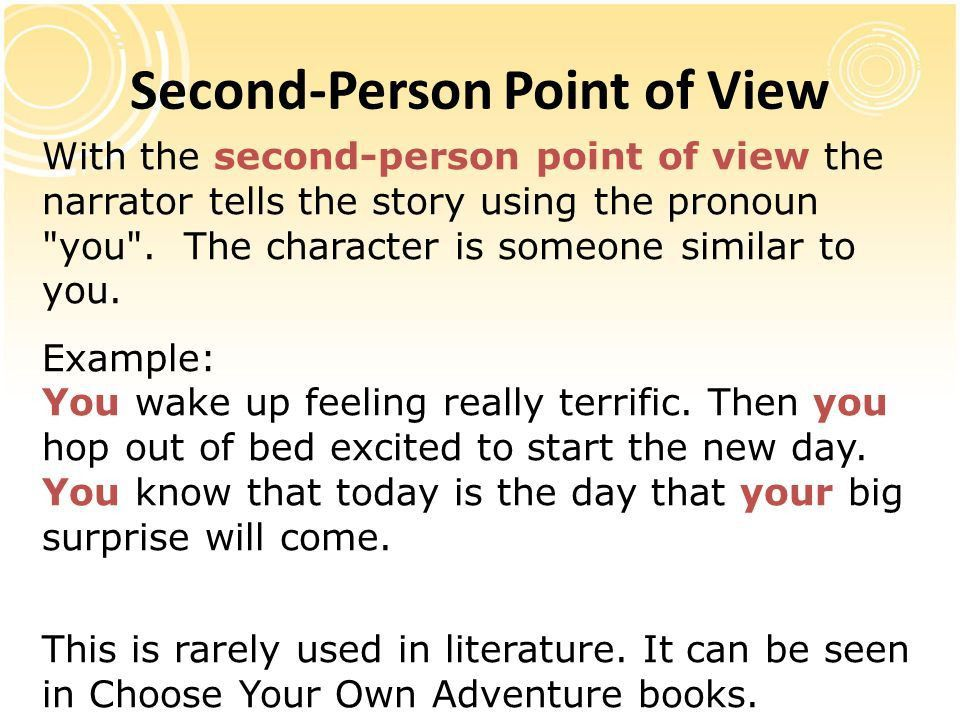 second person example first second and third person lesson  second person example writing essay essay for you
