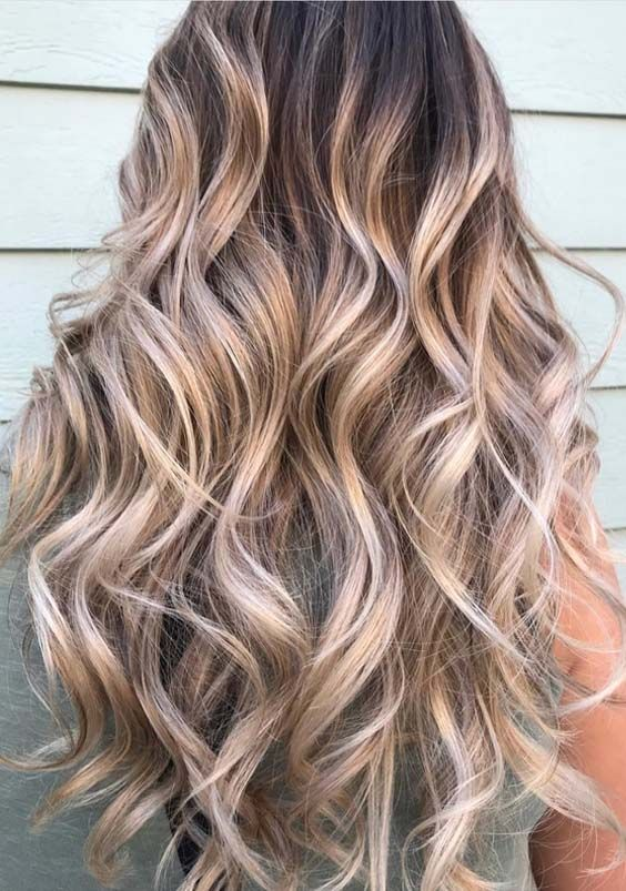 Stylish shades of buttercream balayage highlights and hair colors inspirations for long and medium haircuts to sport right now. Balayage is one of the best hair color options for ladies to match in 2018. No matter which hair colors do you have earlier, you may use these balayage shades to make you look attractive.