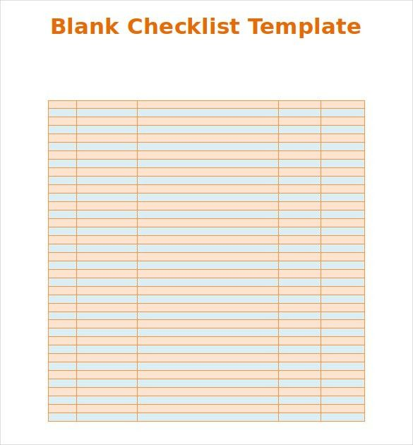 Printable Checklist Template Best 20 Checklist Template Ideas On - moving checklist template