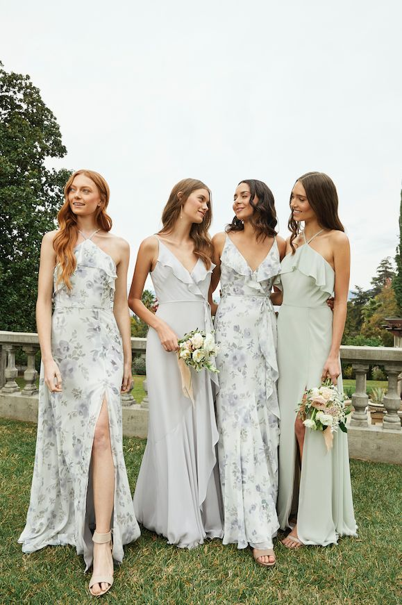 Floral + Solid Bridesmaid Combo - YESSSS