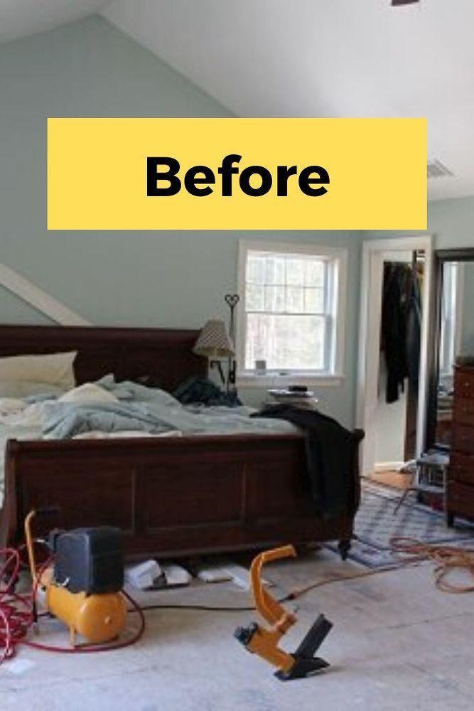 DIY Bedroom Makeover Idea on a Budget