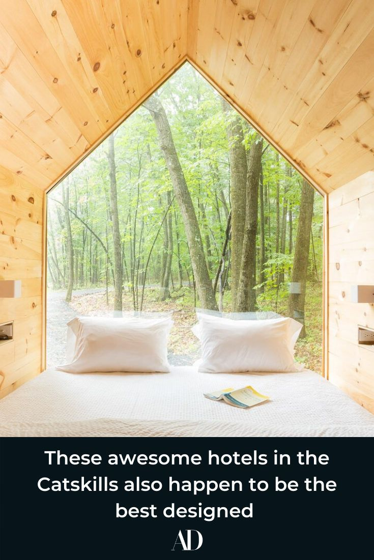 These awesome hotels in the Catskills also happen to be the best designed