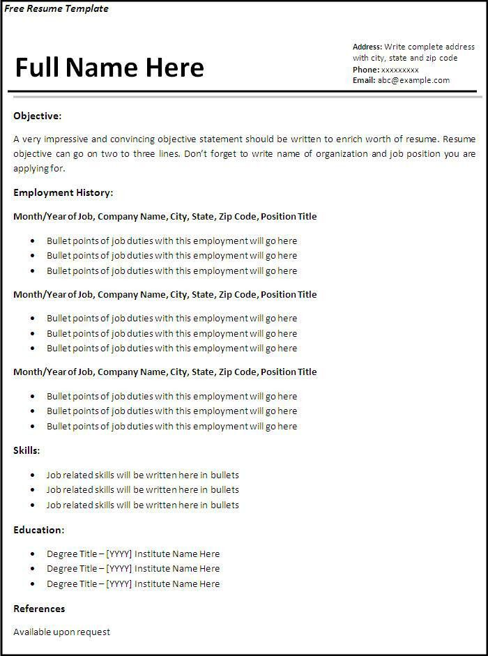 Free Samples Resume Free Resume Samples Writing Guides For All - examples of writing a resume