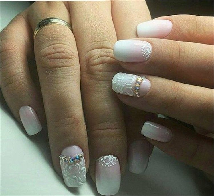 100+ Chic And Modern Nail Art Designs Ideas – Fashonails #nail_art_designs #trendy_nails #modern_nails #chic_manicure